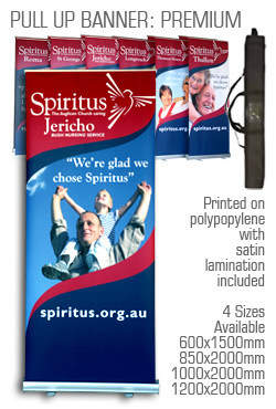Pop-The-Banner Premium Pull Up Banner