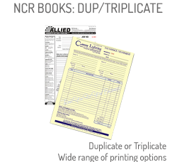 NCR Invoice and Order Books