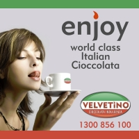 VELVETiNO Cioccolata : a whisper of Italy in every sip.