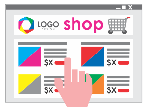 Graphic Design For On-line Web Shops